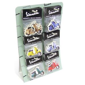 Magnets, Display Rack of 48 (SKU: 0100-0534)