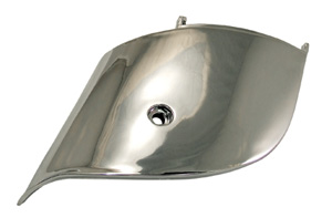Suspension Cover, Chrome - Vespa ET2/ET4 (SKU: ETSC1     CHROME)