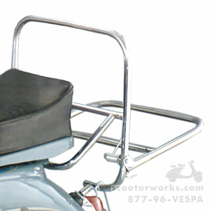 Rear Rack, Old Style Chrome - 60s-70s largeframe 32B (SKU: RRC3-C)