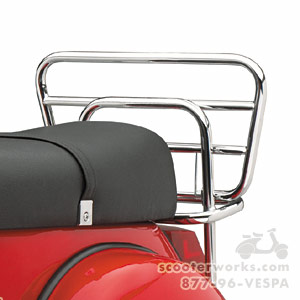 Prima Rear Rack (Chrome) for Stella 4T (SKU: 0200-0070)