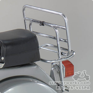 Rear Rack, Standard Chrome (SKU: RRV1-C)