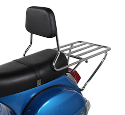 Prima BBQ Rear Rack w/Backrest