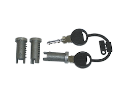 Lock Barrel Set and Keys