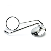 Mirror, LONG Chrome - Buddy (pair)