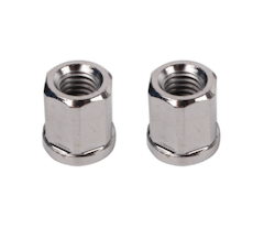 NCY EXHAUST PIPE NUTS (8MM, SOLD IN PAIRS)