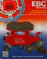 Brake Pads, FA135 EBC, Qlink, Chinese Scooters