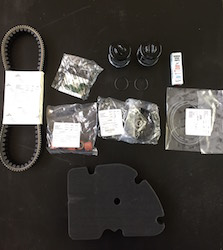 Maintenance Kit for GTS 300 1st, 2nd and 3rd Service