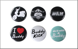 Scooter Buttons (6 Pack, Series 4) (SKU: 0100-0403)