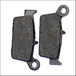 Brake pads, Kymco ZX, Cobra (SKU: 1000-1018)