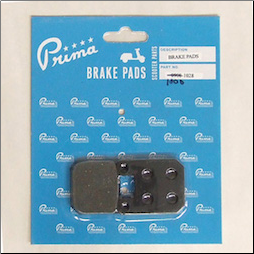 Brake Pads, Italijet, Derbi, CPI (SKU: 1000-1028)