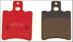 Brake Pads, FA169 NCY Performance (SKU: 1000-1132)
