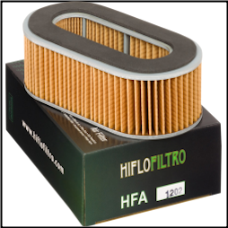 Air Filter, Honda Elite 250, 85-88 (Hiflo Filtro) (SKU: 1011-1671)