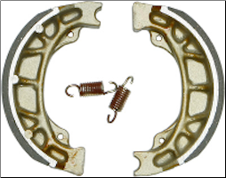 Brake Shoes, EBC #303 (SKU: EBC303  14-303)