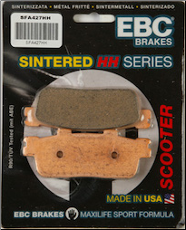 Brake Pads, FA427 Sintered EBC (SKU: 153-427H)