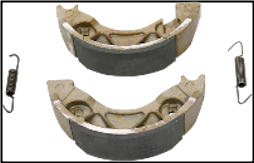 Brake Shoes, EBC #530 (SKU: 1723-0124)