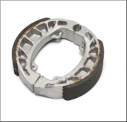 Brake Shoes, Rear Shoes for Buddy 125, 150 Prima