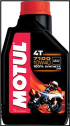 Oil, 4-stroke - 7100 Motul 10w40 Synthetic (SKU: 3601-0064)