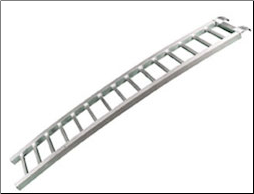 Ramp, Curved Aluminum (SKU: 61-0722)