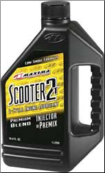 "Oil, 2 Stroke - Maxima ""Scooter Specific"" Conventional"