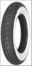 3.00-10, Shinko SR550 Whitewall Tire
