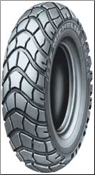 130/90-10, Michelin Reggae Tire (SKU: 87-9333 or SCTR-10)
