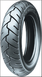 100/80-10, Michelin S1 Tire (SKU: 87-9352 or 0340-0570)