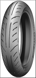 110/90-13, Michelin Power Pure (SKU: 87-9805 or 0340-0392)