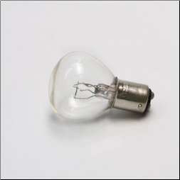 Headlight Bulb, 6V 25/25W, smaller base (SKU: B6HLS)