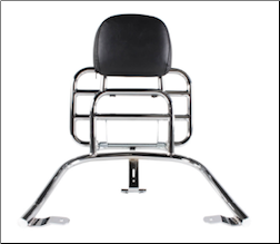 Prima Rear Rack w/ Backrest (CHROME) for GTS