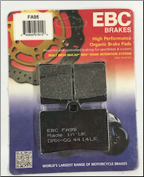Brake Pads, FA95 for Blur 150 (SKU: FA95)