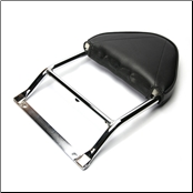 Backrest. Vespa GTS250 - Fits stock rack (SKU: GTSBR2)