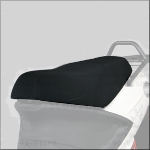 Genuine Buddy 50/125/150 Seat - Black (SKU: P66710000007*)