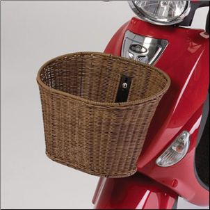 Front Basket, Buddy (SKU: BASKETBUD1WICKER)