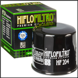 Oil Filter, Hiflo Filtro Brand FH204