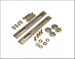 TC5 Topcase, Spare Hardware Set (SKU: TC5-HDWR)