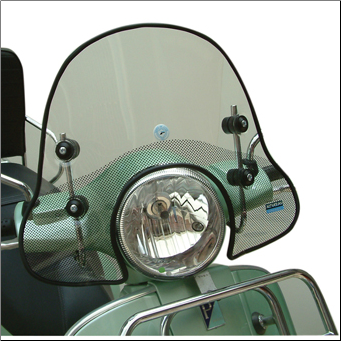 Windscreen, Cuppini - Vespa GT/LX/GTS - Small (SKU: GTWS1)