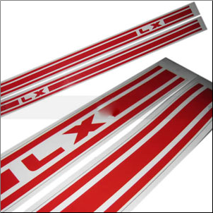 Vespa LX (Panel Race Stripes); LX50, LX150 (SKU: 1600-0174)