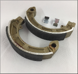 Brake Shoes, EBC #820 (SKU: 1723-0252)