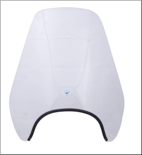 Windscreen, Small - Vespa ET2/ET4 (SKU: ETWS2)