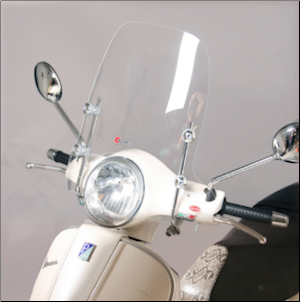 Windscreen, Vespa GT/GTS Large - Faco (SKU: GTWS4)