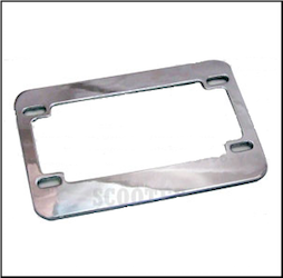Chrome License Plate Holder - Prima (SKU: 0200-0013)