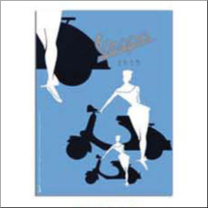 Notepad, Blue Silhouette - 6x8 (SKU: 0100-0510)