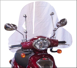 Windscreen, Kymco People Large (SKU: 0700-1007)