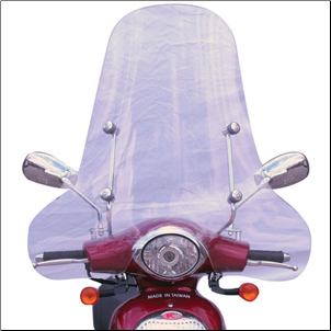 Windscreen, Kymco People Extra Large (SKU: 0700-1008)
