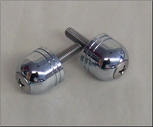 Bar Ends, Chrome Stubby (SKU: 0800-1024)