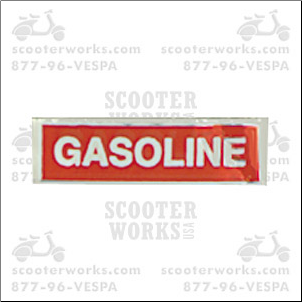 Decal - Gasoline