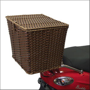 Rear Cargo Basket w/Removable Liner (SKU: BASKETR)