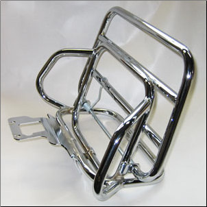 Rear Rack, Vespa ET2 ET4/LX fold down (SKU: ETRR2)