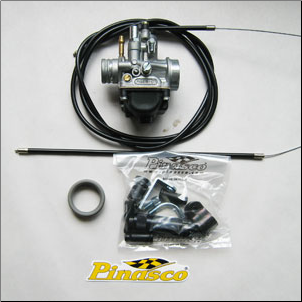 Carb Kit, Pinasco 19mm - Vino 50 (SKU: P 10294984)