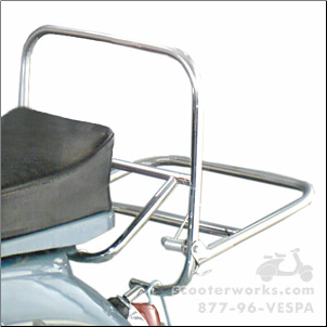 Rear Rack, Old Style Chrome - 60s-70s largeframe 32B